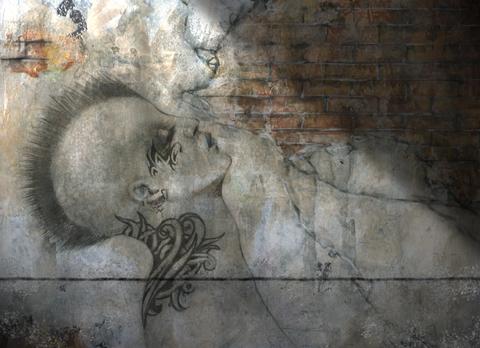 John-Cox-paintin-trompe-oeil-wall-figure.jpg